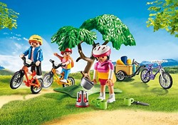 Playmobil  Summer Fun Mountainbiketocht met bolderwagen 6890