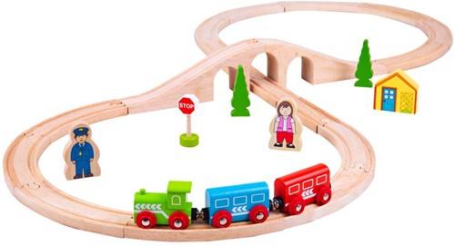 Bigjigs Figure of Eight Train Set