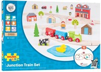 BigJigs Junction Train Set