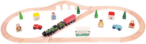 Bigjigs Flying Scotsman Train Set