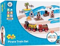 Bigjigs Pirate Train Set-2
