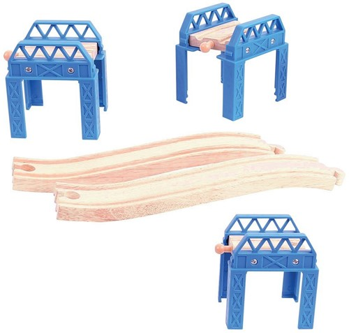 Bigjigs Construction Support Set