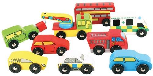 BigJigs Vehicle Pack