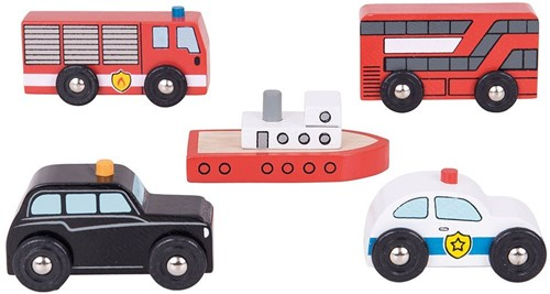 Bigjigs City Vehicles