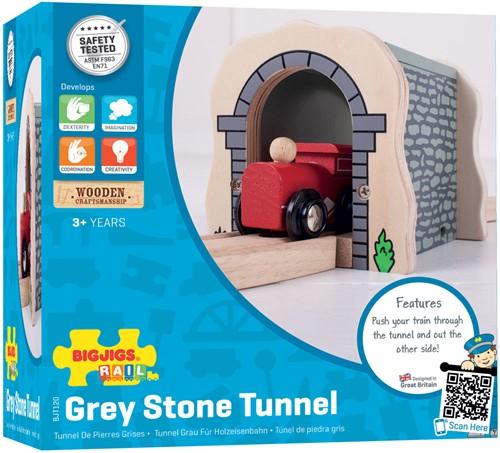 BigJigs Grey Stone Tunnel-3