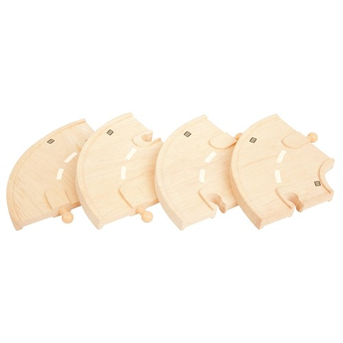 Bigjigs Curved Roadway