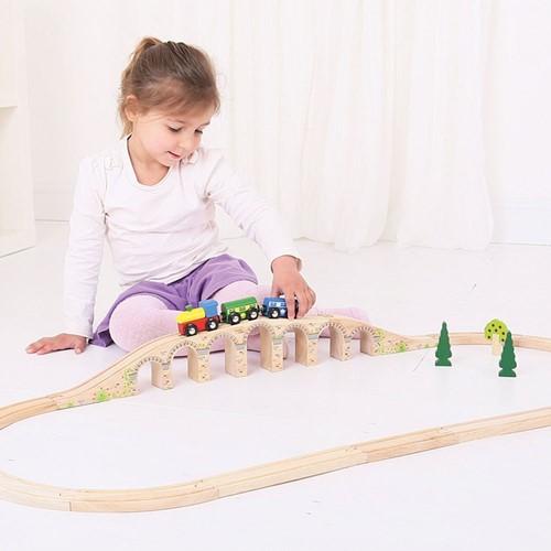 Bigjigs Railway Viaduct-2