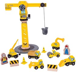 BigJigs Big Crane Construction Set