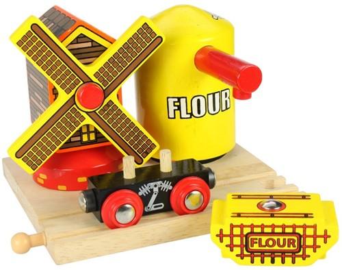 BigJigs Flour and Windmill-2