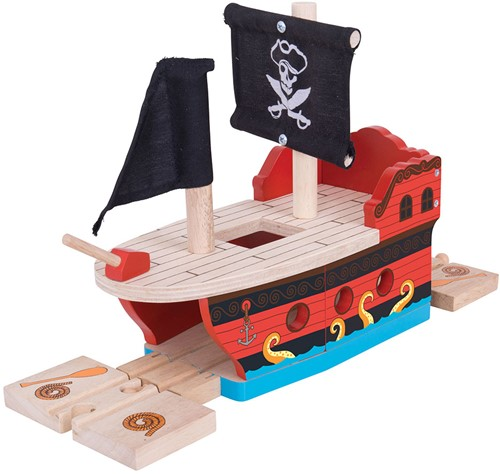 Bigjigs Pirate Galleon