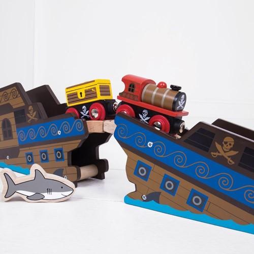 BigJigs Pirate Train-2
