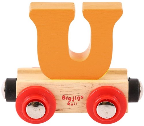 BigJigs Rail Name Letter U, BIGJIGS, LETTERTREIN U