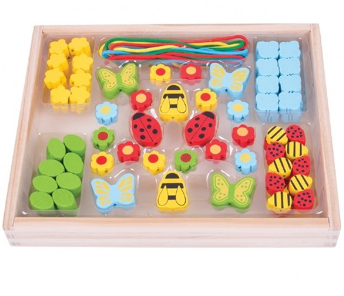 Bigjigs Bead Box - Garden