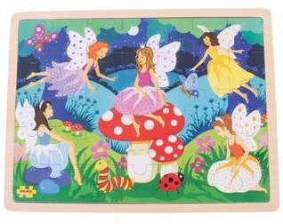 Bigjigs Enchanted Fairies 35 pce Tray puzzle