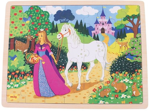 Bigjigs Once Upon a Time 35 pce Tray puzzle