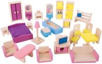 BigJigs houten poppenhuis meubels Doll Furniture Set-1