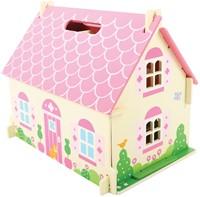 BigJigs houten poppenhuis Blossom Cottage -2