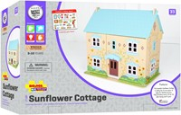 BigJigs houten poppenhuis Sunflower Cottage