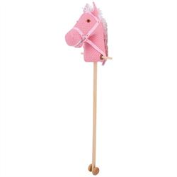 Bigjis stokpaard Spotty roze