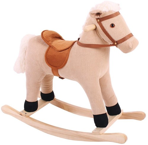 Bigjigs Cord Rocking Horse