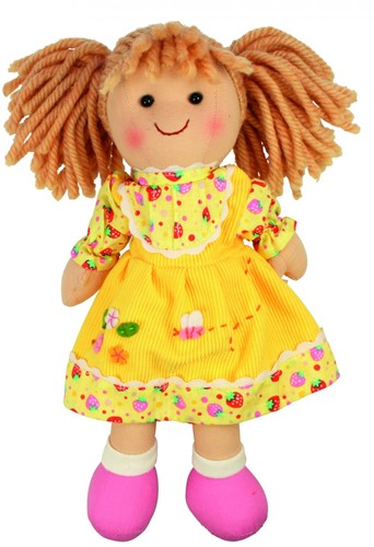 Bigjigs Daisy - Blonde Hair/Yellow Dress