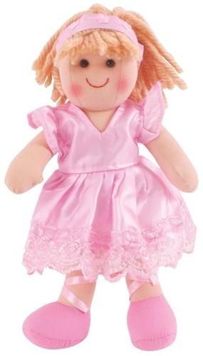Bigjigs Lily - Blonde Hair/Pink Ballerina