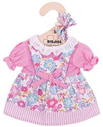 BigJigs 25cm Pink Floral Dress
