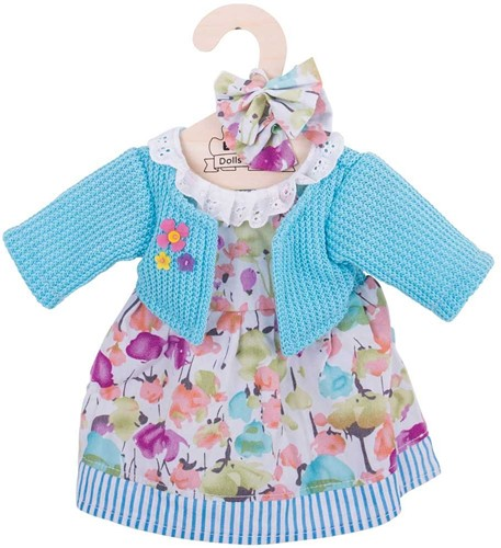 Bigjigs Turquoise Cardigan and Dress - Large