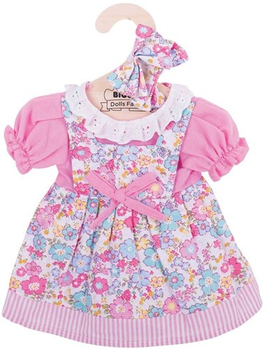 Bigjigs Pink Floral Dress - Large