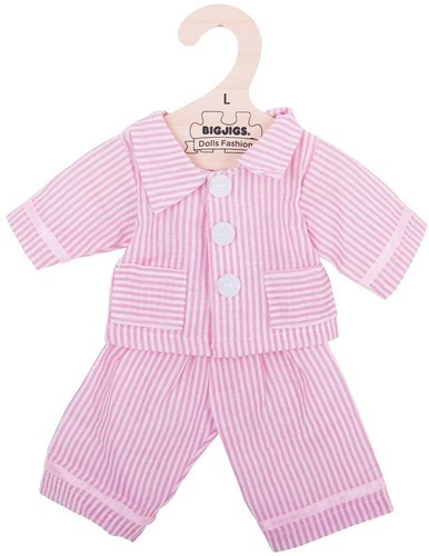 Bigjigs Pink Pyjamas - Large