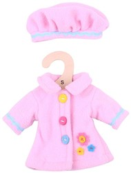 BigJigs 25cm Pink Hat and Coat