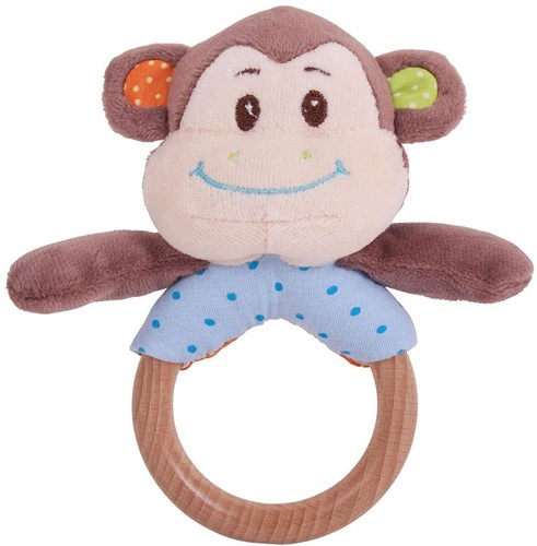 Bigjigs Cheeky Monkey Ring Rattle (4)