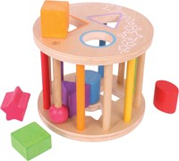 BigJigs First Rolling Shape Sorter-1