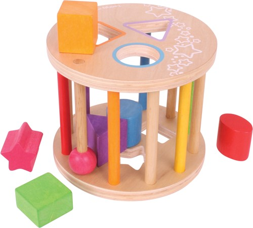 BigJigs First Rolling Shape Sorter