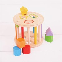 BigJigs First Rolling Shape Sorter-2