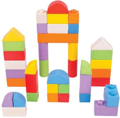 Bigjigs Click Blocks - Intermediate Set