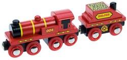 BigJigs - Treinen - Big Red Engine