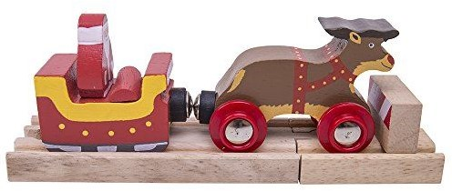 BigJigs Santa Sleigh with Reindeer (4)-3