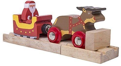 BigJigs Santa Sleigh with Reindeer (4)