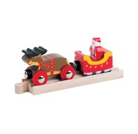 BigJigs Santa Sleigh with Reindeer (4)-1