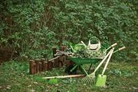 EverEarth kinder tuinspullen kruiwagen-3