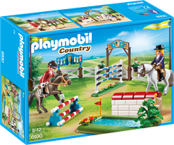 Playmobil country paardenwedstrijd 6930