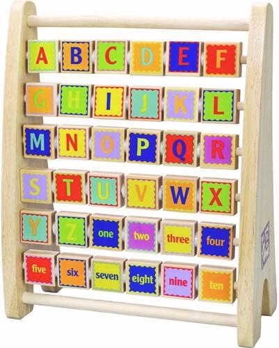 Hape leerspel Alphabet Abacus-2