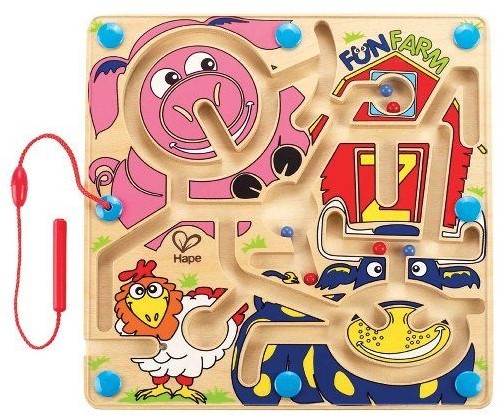 Hape magneetspel Fun Farm-2