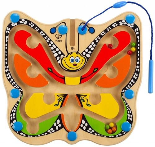 Hape houten leerspel Doolhof vlinder