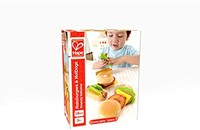 Hape houten keuken accessoires Hamburgers en hotdogs-2