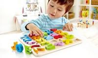 Hape houten legpuzzel Alphabet Puzzle-3