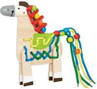 Hape rijgfiguur Lacing Pony-1