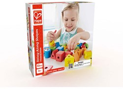 Hape rijgfiguur String-Along Shapes