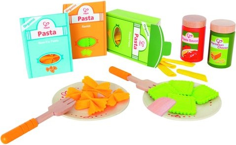 Hape houten keuken accessoires Pasta-set